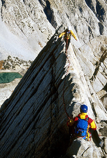 Rock Climbing Photo: Toblerone Ridge in the Sierra's