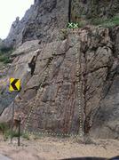 Rock Climbing Photo: TR routes.