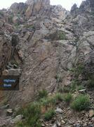 Rock Climbing Photo: Highway Blues.