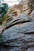 Rock Climbing Photo: The Planet Eater (July 2014)