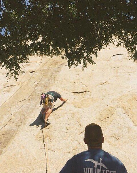 Rock Climbing Photo: The Trough at Big Rock