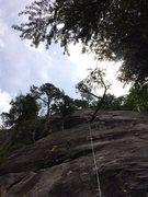 Rock Climbing Photo: The next rest spot.