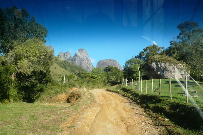 Rock Climbing Photo: To show what the roads are like. The mountains ahe...