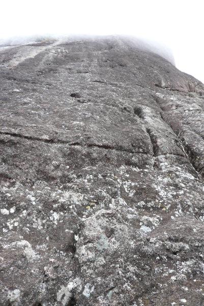Rock Climbing Photo: Around P3.