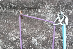 Rock Climbing Photo: Anchors in Brazil are essential two bolts. But the...