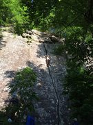 "Rock Climbing Photo: Half way up on ""Treebeard"""