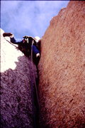 """Rock Climbing Photo: Dave Madera on the epic """"changing corners&quo..."""