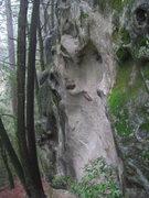 "Rock Climbing Photo: Start of ""Lucky In Love"" on Lyme Disease..."