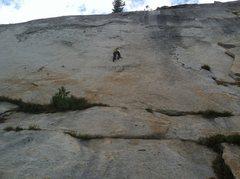 Close up of all three climbs with JB on Mama Bear.