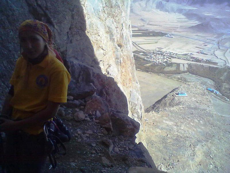 Rock Climbing Photo: Lajvar_Arak_Iran Big wall climbing