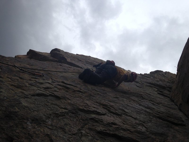 Rock Climbing Photo: NTM Route