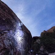 Rock Climbing Photo: Night sends by headlamp and the super moon. Cannib...