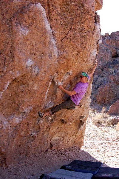 Bouldering Ketron Classic in Bishop