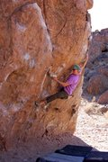 Rock Climbing Photo: Bouldering Ketron Classic in Bishop
