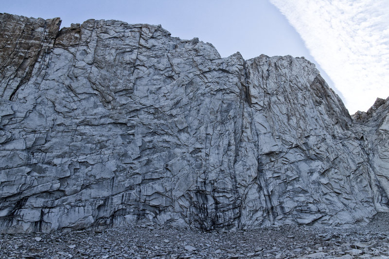 Rock Climbing Photo: North West face of Coness