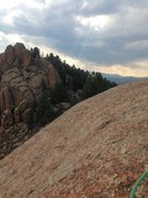 Rock Climbing Photo: Top of Fun Climb 101.