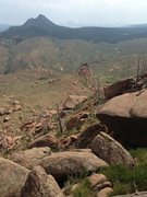 Rock Climbing Photo: Looking south from the Top of the World. I believe...