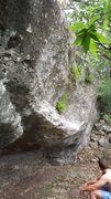 Rock Climbing Photo: looking at slopes from the left. Watch out for hor...