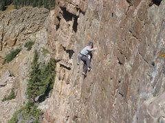 Rock Climbing Photo: King of Twilight