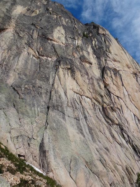 Rock Climbing Photo: Start of Climb