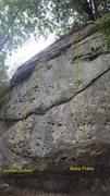 Rock Climbing Photo: Pocket Jockey and Bake flake
