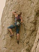 "Rock Climbing Photo: ""Burning Grandma's Bones"" 11b, Ten Sleep..."