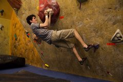 Rock Climbing Photo: A little comp in the gym, problems ranging from 10...