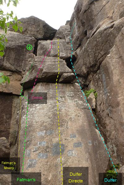 Rock Climbing Photo: Fatman's Dulfer 666