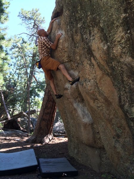 "Ray Weber on a personal favorite ""Orange Roughy V6"" Black Hills South Dakota!!"