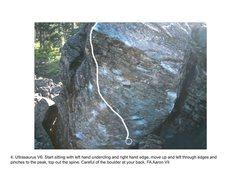 Rock Climbing Photo:  Ultrasaurus Boulder