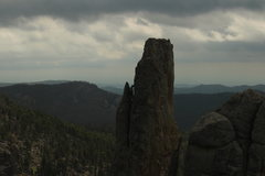 Rock Climbing Photo: Totem Pole - Custer State Park, SD