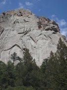Rock Climbing Photo: Following Cheap Date (zoom in…).
