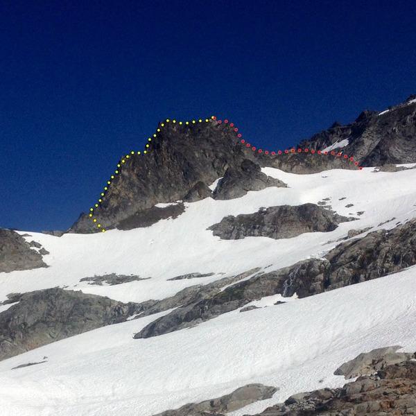 Rock Climbing Photo: The Aiguille de l'M, Boston Basin, North Cascades ...