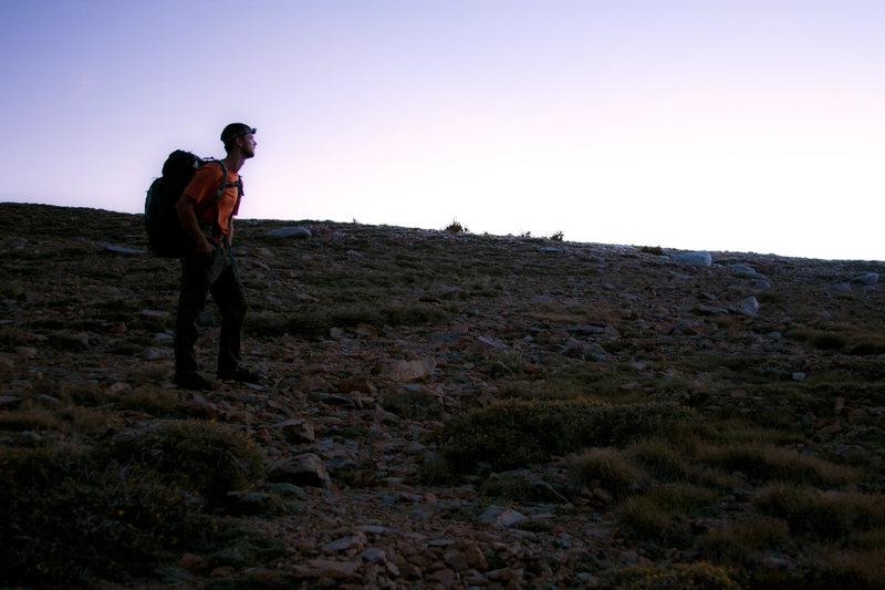Tim on DP at dawn