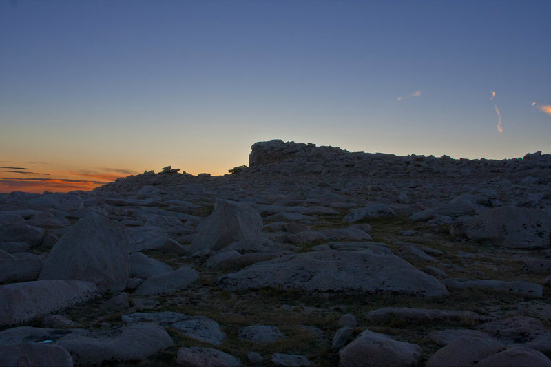 The Third Pillar summit at dawn