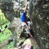 Boulder problem start on CN-Red