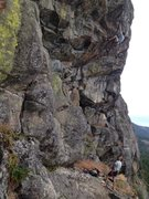 Rock Climbing Photo: Troy Corliss and Gary Allan on an early ascent of ...
