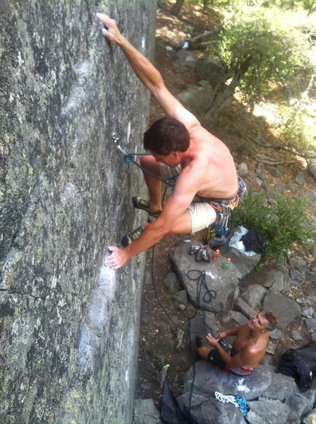 troy and gary on into the light .10c. kudos cliff, emeralds, ca.