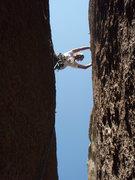 Rock Climbing Photo: Near the anchors.