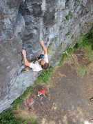 Rock Climbing Photo: Sport climbing at Petrohue.