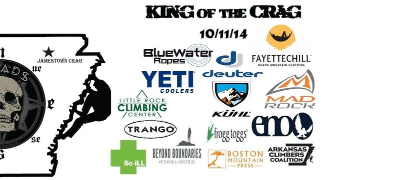 King of the Crag 2014-Jamestown Crag in Arkansas