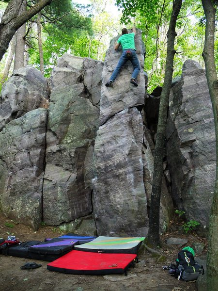Rock Climbing Photo: Tall!  Satermo