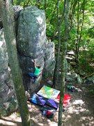 Rock Climbing Photo: Left arete start