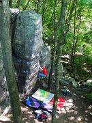 Rock Climbing Photo: Right arete start