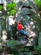 Rock Climbing Photo: Pic 1 of 3, sequence, cool boulder problem