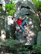 Rock Climbing Photo: Pic 2 of 3, sequence, cool boulder problem