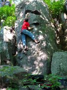 Rock Climbing Photo: Pic 3 of 3, sequence, cool boulder problem