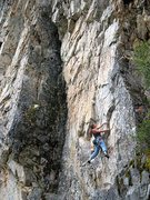Rock Climbing Photo: Case Dismissed (5.11b), Land of the Lost