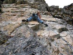 Rock Climbing Photo: Case Dismissed (5.11b) at the Glory Hole, Land of ...