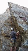 Rock Climbing Photo: This is not me but my new friend nate, he climbed ...